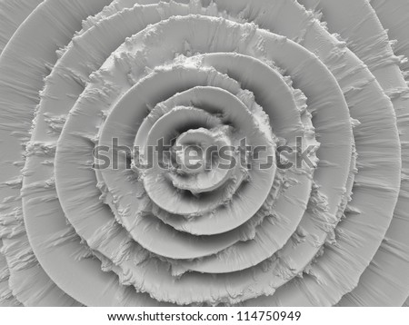 abstract white radial background