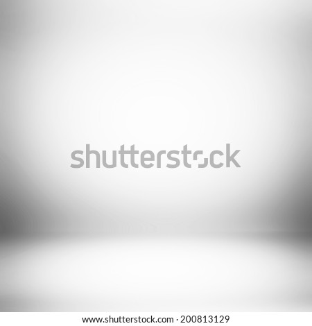 Abstract white room background