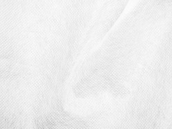 abstract white texture blur background of synthetic fabric fiber with detail and curved line a high resolution closeup soft focus of cloth surface for art and design