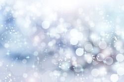 Abstract Winter background abstract bokeh