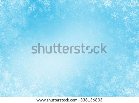 Abstract Winter Background Texture