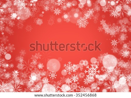 Abstract Winter Background Texture #352456868