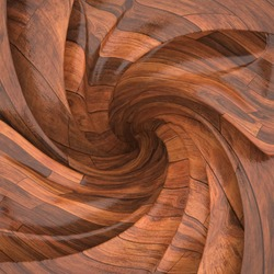 Abstract wood background rendering