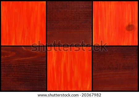 Abstract Wood Panels
