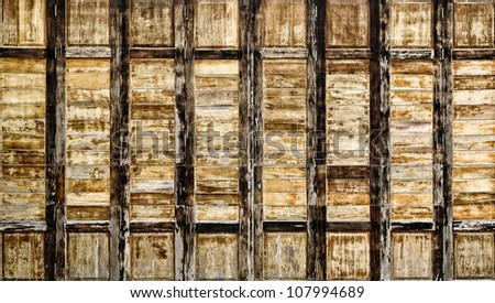 Abstract wood pattern ; interiors wall.