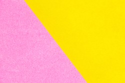 Abstract yellow and pink color paper textured background with copy space for design and decoration