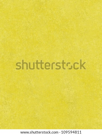 abstract yellow background, bright fun colorful shade of yellow with vintage grunge background texture sponge design, solid yellow paper for brochure layout or poster, or website template background
