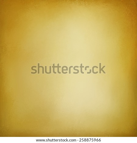 abstract yellow gold background with white shine and faint vignette border design, elegant luxury background layout color