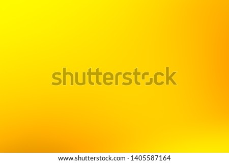 Abstract yellow gradient illustration background