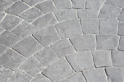 Abstraction from concrete stamp background texture, Concrete stamp Pattern for outdoor floor finishing.