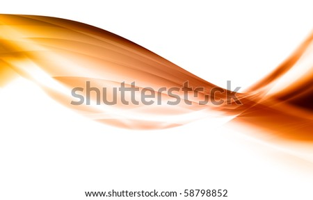 Abstraction in orange tones