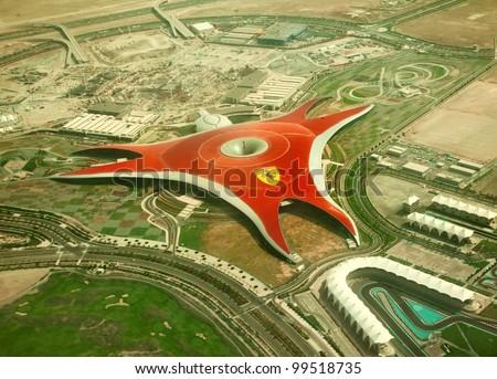 - stock-photo-abu-dhabi-uae-april-ferrari-world-park-is-the-largest-indoor-amusement-park-in-the-world-99518735