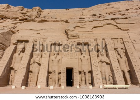 Abu Simbel Temple #1008163903