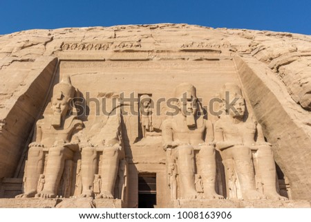 Abu Simbel Temple #1008163906