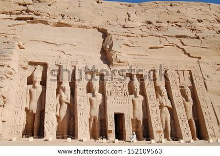 Abu Simbel Temple . Egypt #152109563