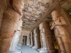 Abu Simbel Temple in Aswan Egypt