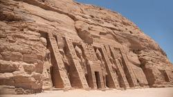 Abu Simbel Temple in Egypt while Nile cruise