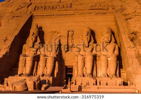 Abu Simbel Temples, Egypt #316975319