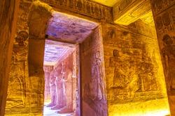 Abu Simbel temples, UNESCO World Heritage site, Aswan, Egypt.