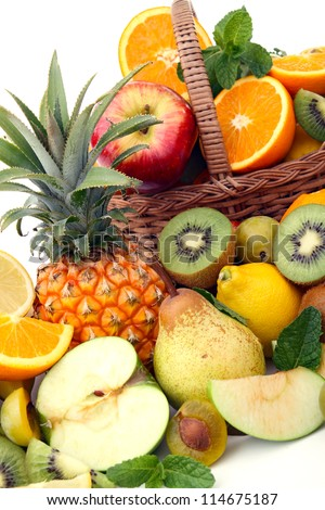 abundance of fruits
