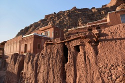 Abyaneh, an old mountain village near Kashan. Iran.