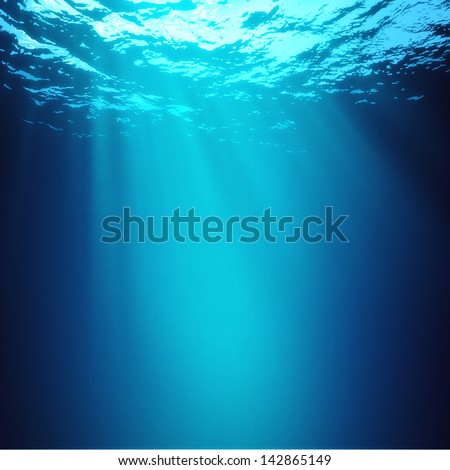 Abyss. Abstract underwater backgrounds #142865149