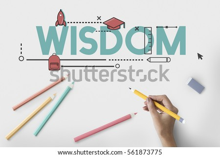 Academics Wisdom Literacy Study Icon #561873775