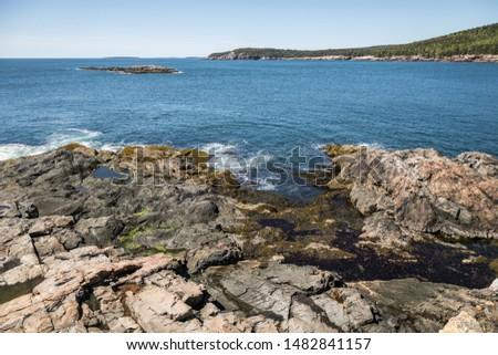 Acadia National Park Shoreline Hike