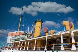 Acadia Oceanographic Ship in Halifax in Halifax, Nova Scotia, Canada