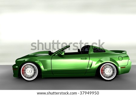 Sport Cars on Muscle Sportscar   Sports Car Stock Photo 37949950   Shutterstock
