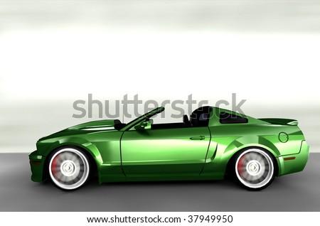 Sport Cars on Muscle Sportscar   Sports Car Stock Photo 37949950   Shutterstock