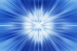 Acceleration speedy super fast speed effect of motion zoom in blur background space for design blue color.