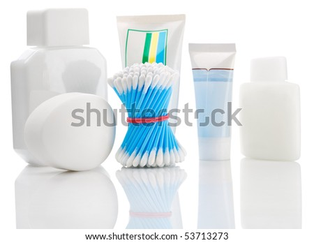 accesories of care - stock photo