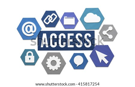 Access Available Usable Accessibility Concept