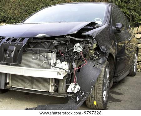 Accident Damaged Vehicle