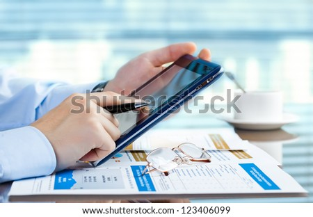 Accounting. - Shutterstock ID 123406099