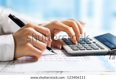 Accounting. ストックフォト ©