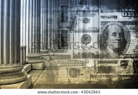 Accounting and Finance Law Concept as a Art - stock photo