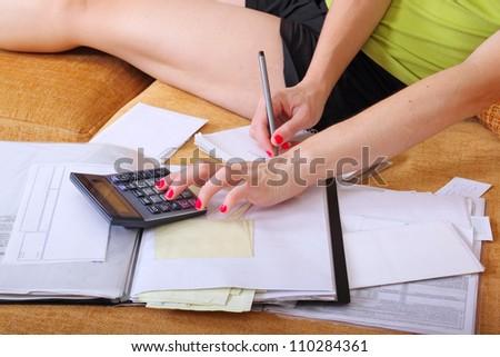 accounting at home