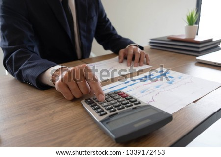 accounting auditing workshop. Stock photo ©