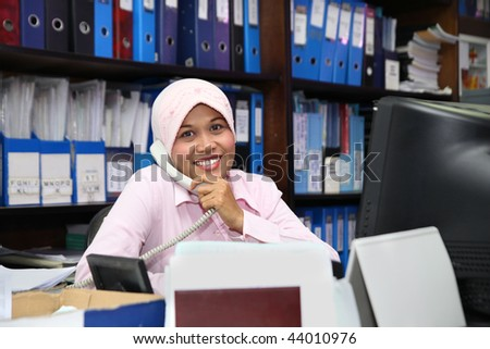 accounting in office