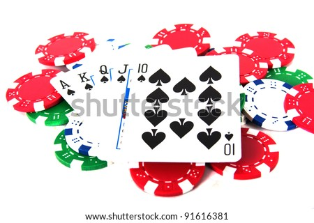 is ace high or low poker hand