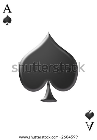 Cards Ace of Spades Logo