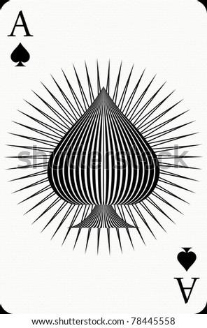 Ace poker card