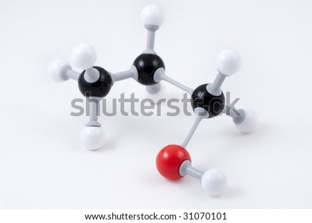 C3h6o 3d Structure Molecule Structure  C3H6O