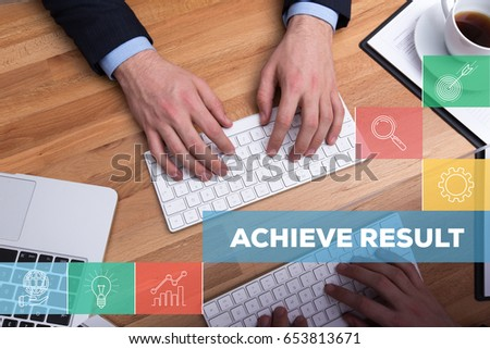 ACHIEVE RESULT CONCEPT #653813671