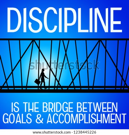 achieving more in life and career by showing some discipline