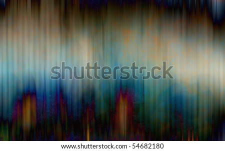 Acid rain - stock photo
