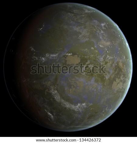 Acid Seas Exo Planet