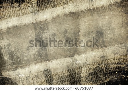 acid text strip high grunge background